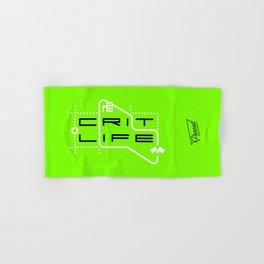 Crit Life Hand & Bath Towel