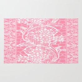 Vintage Lace Pink Rug