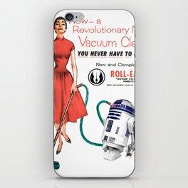 R2D2 Vacuum iPhone Skin