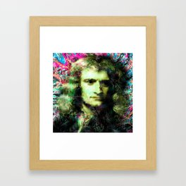 ISAAC NEWTON Framed Art Print