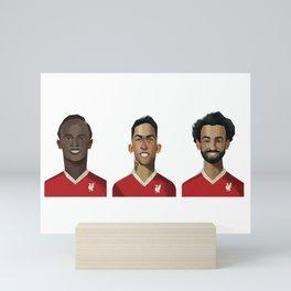 Liverpool - Red Arrows Mini Art Print