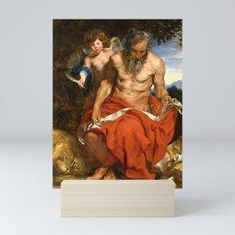 "Anthony van Dyck ""Saint Jerome"" Mini Art Print"