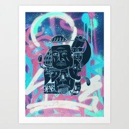 Graffish Art Print