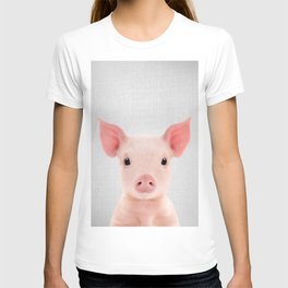 Piglet - Colorful T-shirt