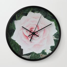 Katie's Rose Wall Clock
