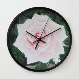 Katie's Rose Wall Clock
