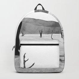deadvlei desert trees acrbw Backpack
