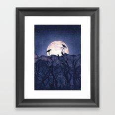 Midnight Chorus Framed Art Print