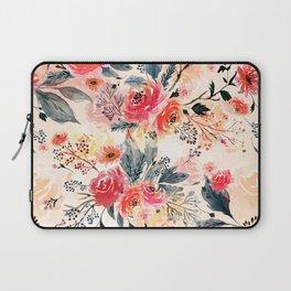 Evening Floral Garden Laptop Sleeve