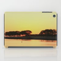 michigan iPad Cases featuring Lake Michigan by mindaugas gelunas studio