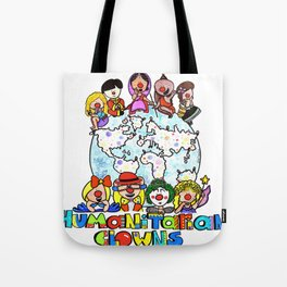 Humanitarian Clowns Tote Bag