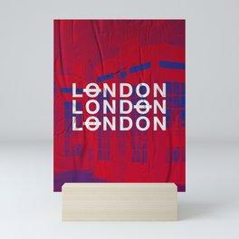 London slap up Mini Art Print