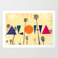 Aloha Friday Art Print