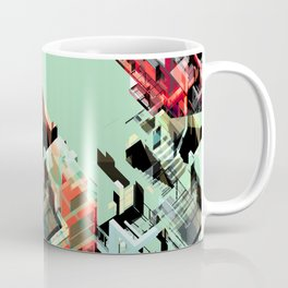 Urban Scape Fragments Coffee Mug