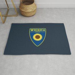 Wichita Kansas Shield Rug