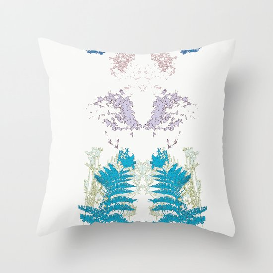 Botanic Body Throw Pillow