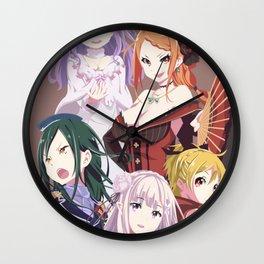 Re Zero  Wall Clock