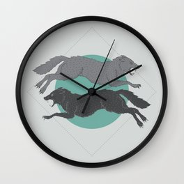 Sons of Fenrir Wall Clock