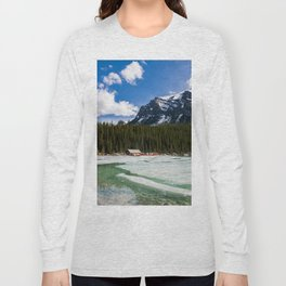Canoeing in the Mountains Long Sleeve T-shirt