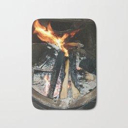 Firewood Bath Mat