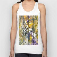 kandinsky Tank Tops featuring Abstract 26 by Har8