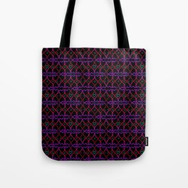 Pink and purple heart Tote Bag