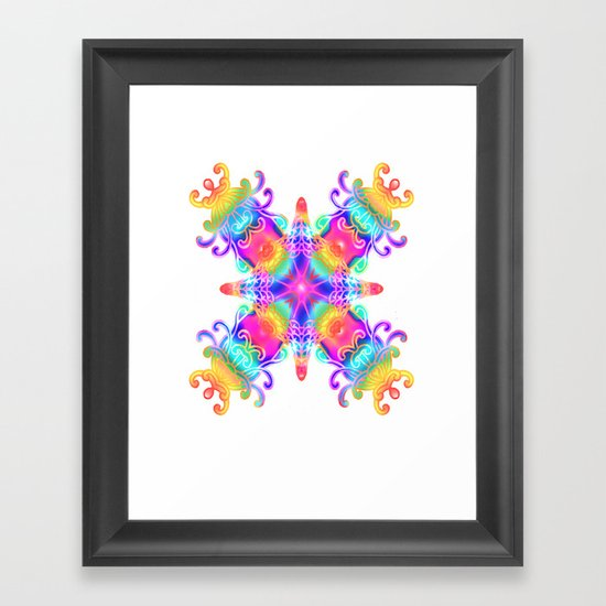Colours Colours Framed Art Print