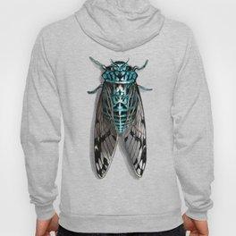 Turquoise Cicada Hoody