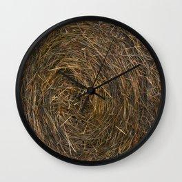 Hay Y'all Wall Clock