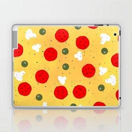 Cool fun pizza pepperoni mushroom Laptop & iPad Skin