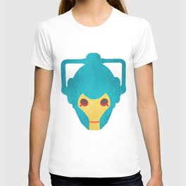 Colorful Cyberman Doctor Who T-shirt