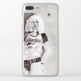 Debbie Harry Clear iPhone Case