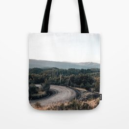 road to Cerro chapelco Tote Bag