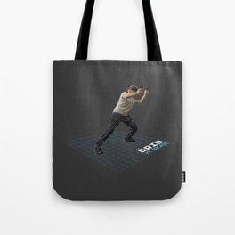 Enter the Grid Tote Bag