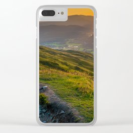 Lake District, England Clear iPhone Case