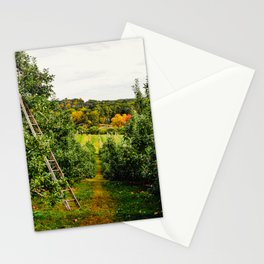 New England Apple Orchard Stationery Cards