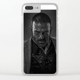 Murphy. Clear iPhone Case