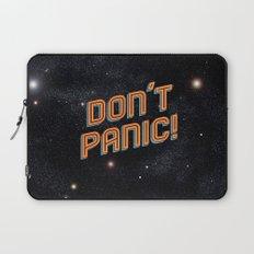 Don't Panic Laptop Sleeve