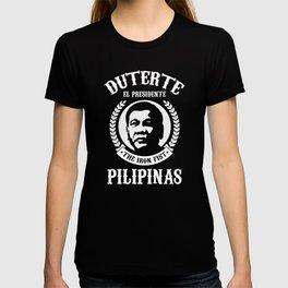 Duterte El Presidente The Iron Fist T-shirt