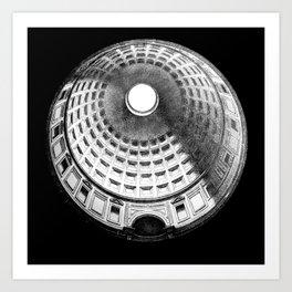Pantheon occulus Art Print