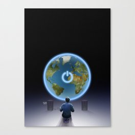 All the world's a game Canvas Print