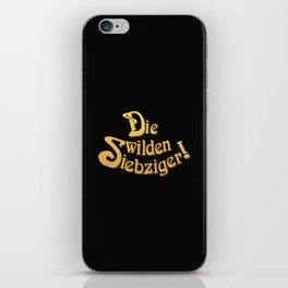 Title - Die Wilden Siebziger! iPhone Skin