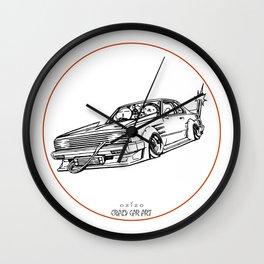 Crazy Car Art 0099 Wall Clock