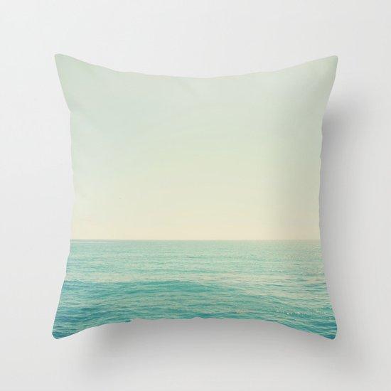 California Ocean Throw Pillow