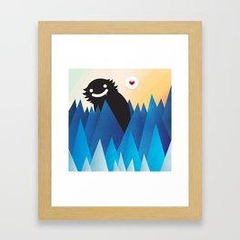 Dante loves you Framed Art Print