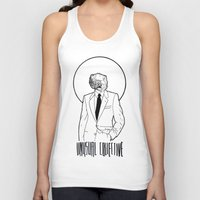 mineral Tank Tops featuring Mineral Man by Ryan Brown