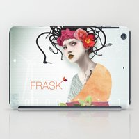 techno iPad Cases featuring FRASK techno by Fraskdesign