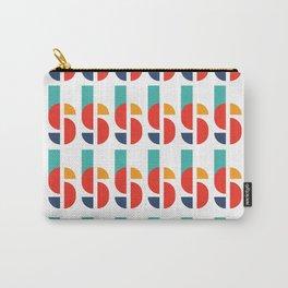 Bauhaus Kandinsky Geometry Typeface Carry-All Pouch