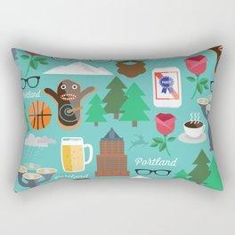 PDX patten Rectangular Pillow