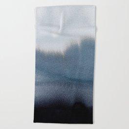 In Blue Beach Towel